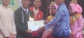 Arief maulana Juara Debat Biologi UIN 2017