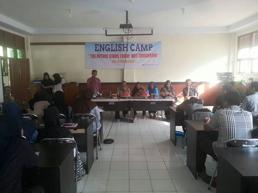 The future start today not tomorrow…English Camp Man2 Model Makassar 2016