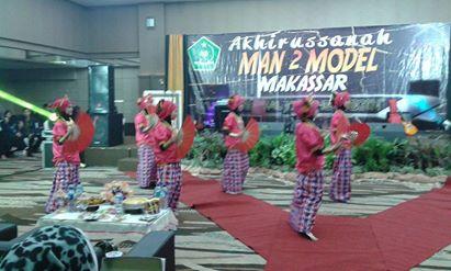 Lets the Journey Begin 2016,Perpisahan Man2 Model Makassar 2016