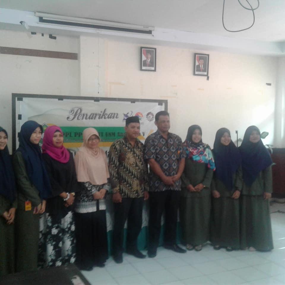 Pelepasan PPL SM3T angkatan ke V di MAN 2 Kota Makassar