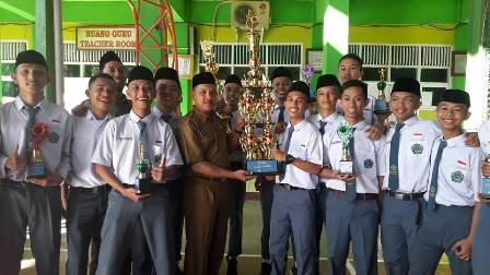 Man 2 Makassar Juara Umum JIHAD 3