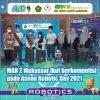 MAN 2 Makassar Ikut berkompetisi  pada Asean Robotic Day 2021